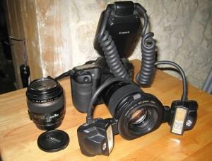 Canon Eos 50D + Flash MT 24 EX